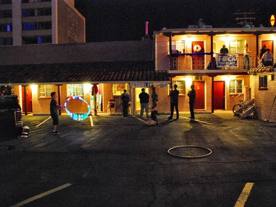 The El Ray was one of the downtown Reno motels where artists showed their work during Nada Dada 2011.