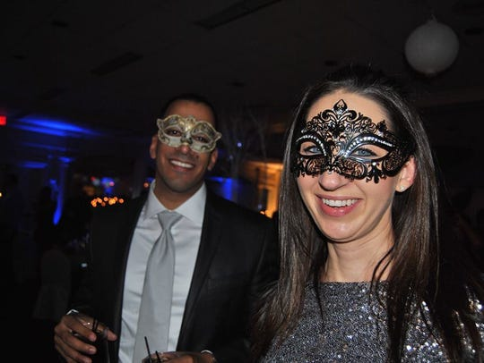 Last year's masquerade party, which had an Ice Ball