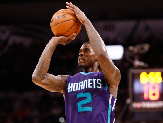 NBA: Charlotte Hornets at San Antonio Spurs