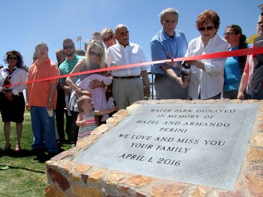 Members of the family of Armando and Hazel Perini were