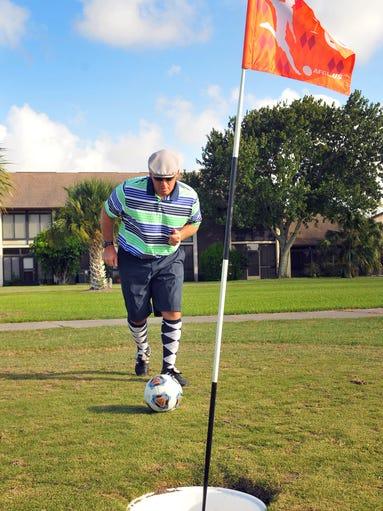 Footgolf at Mallards Landing Golf Course Melbourne | 380 x 510 jpeg 50kB