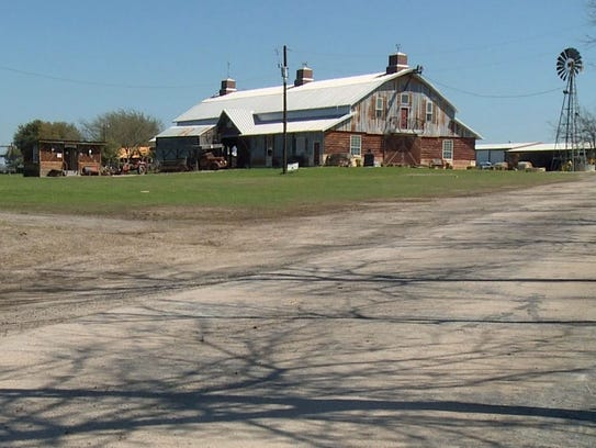 Cleburne Barn Is A Backdrop For Furniture Commercial