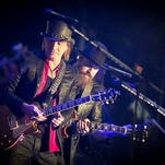Richie Sambora and Zac Brown in Chicago on Friday, Sept. 11.