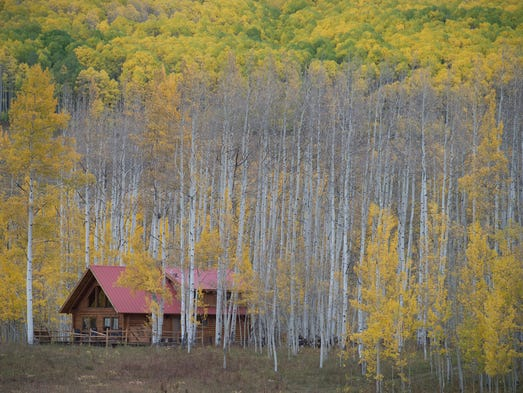 Fort collins weather why this fall has been so toasty for Cabins near crested butte co