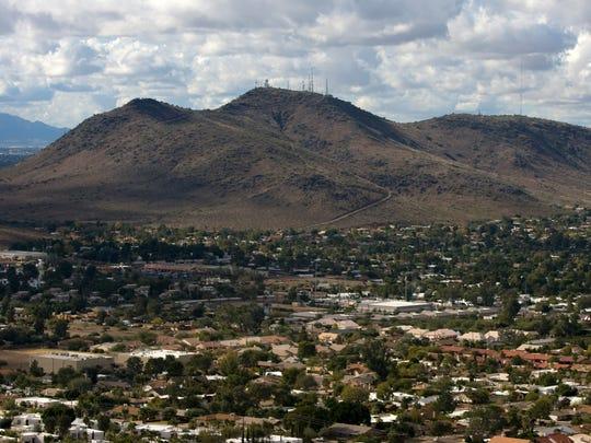 Shaw Butte in Phoenix.