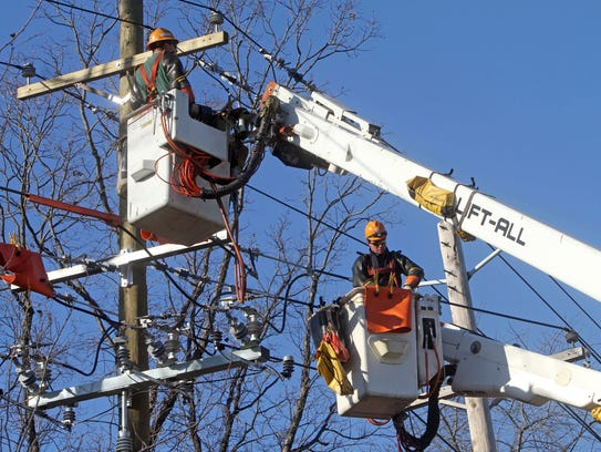 Orange and Rockland workers in a 2012 file photo.