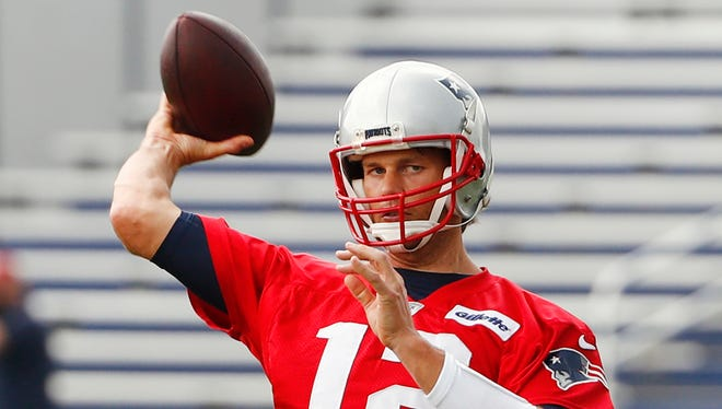 Tom Brady's Facebook page had a little fun at the Cardinals' expense on Sunday night.