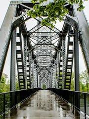 Path's Calling Union Street Railroad Bridge by Rebekah Guest