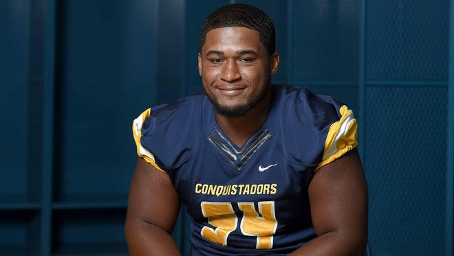 Olive Branch star Fabian Lovett signed with Mississippi State on Wednesday.