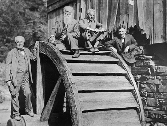 The Vagabonds Thomas Edison, John Burroughs, Henry