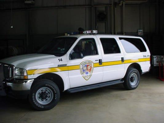 Blackman Twp police vehicle