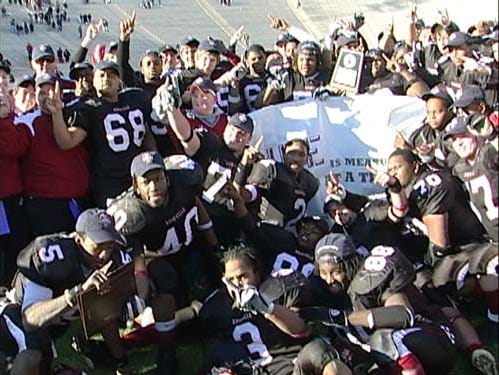 Asheville High won the NCHSAA 3-A football championship in 2005.