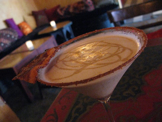 Bakon Vodka chocolate martini