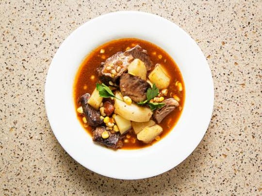 Son of a Gun Stew is a variation on the dish that black