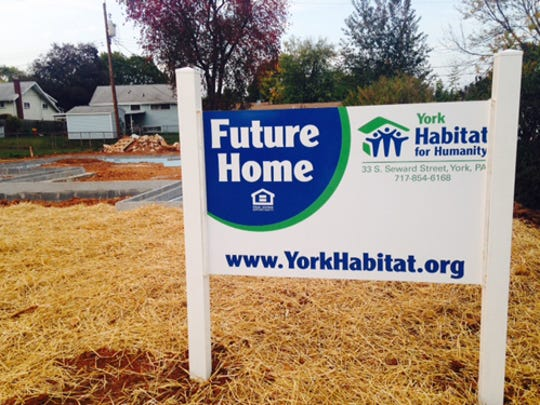 York Habitat for Humanity held a groundbreaking ceremony on Oct. 20 at its build site, 727 Kelly Drive. The future owners are Felisa Green and Jamar Green.