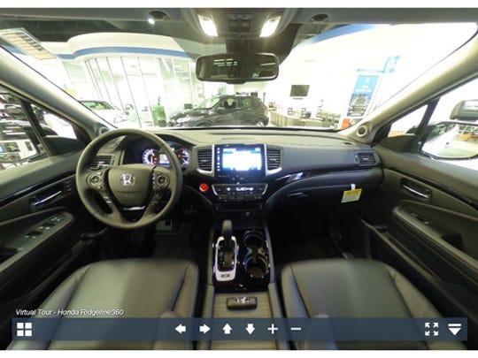 Experience the 2017 Honda Ridgeline in 360-degrees