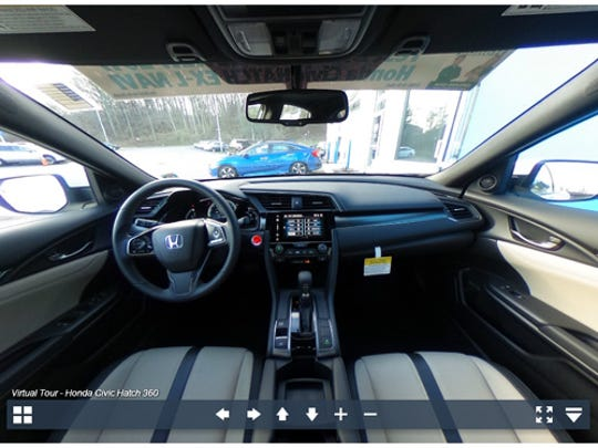 Experience the 2017 Honda Civic in 360-degrees