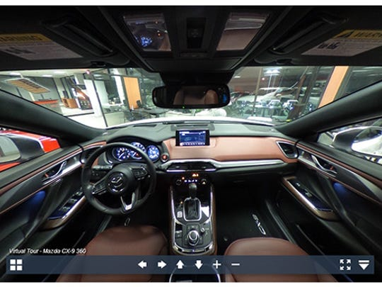 Experience the 2017 Mazda CX-9  in 360-degrees