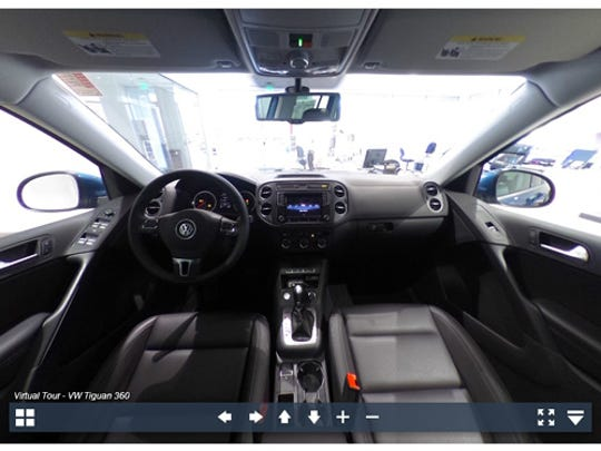 Experience the 2017 VW Tiguan in 360-degrees