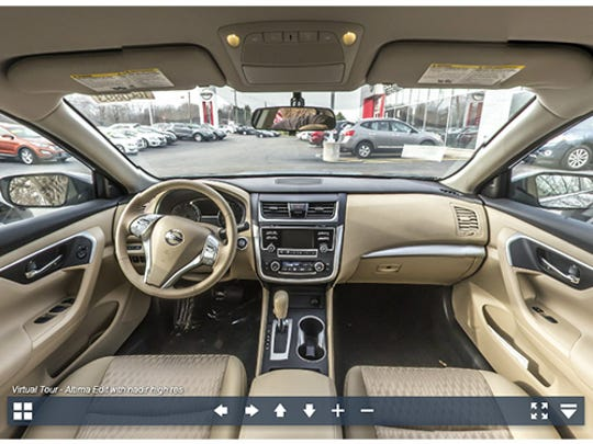 Experience the 2017 Nissan Altima in 360-degrees