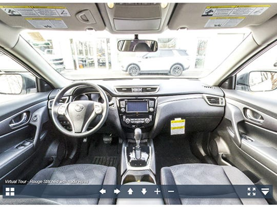 Experience the 2017 Nissan Rogue in 360-degrees