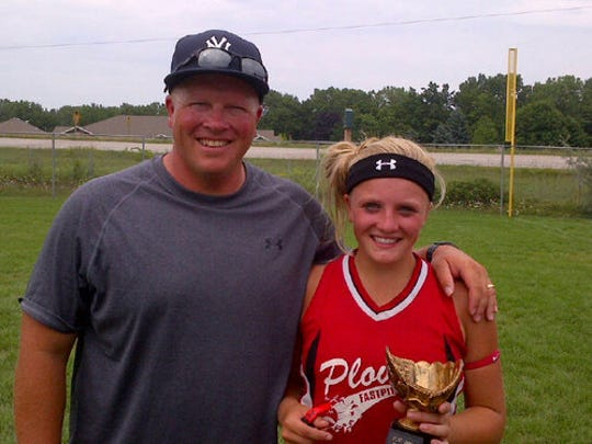 Softball has brought a lot of success and tremendous memories for SPASH coach Tom Drohner and his oldest daughter Aubrey over the years.