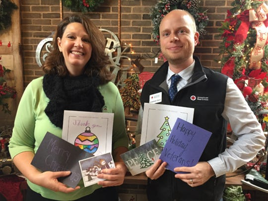Royer's Flowers & Gifts will continue its tradition of collecting holiday cards and coloring pages for service members and veterans this November. The cards will be given to the Red Cross for the Holidays for Heroes program.