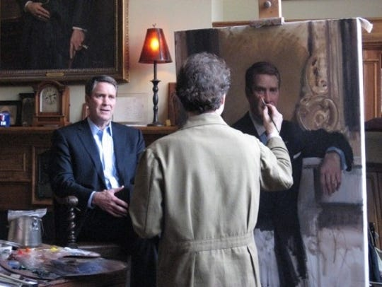 Former Senator Bill Frist poses for a portrait by Nashville