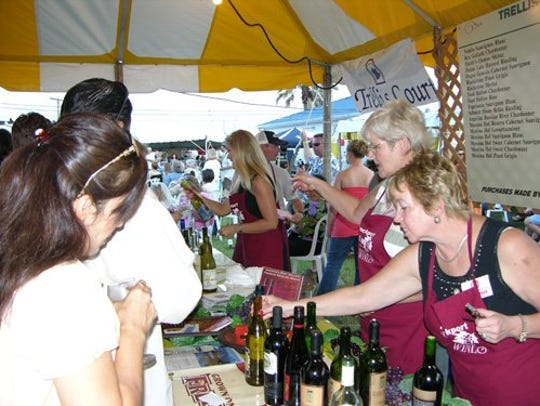 Residents will get a chance to taste wine and food