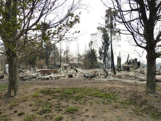 Zita Harrington Biehle's Menlo Way home was reduced