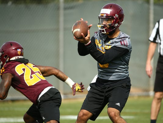 ASU Spring Football Workout