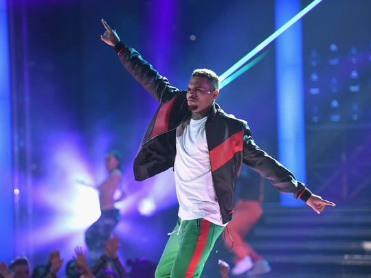 Chris Brown will perform at Ak-Chin Pavilion on Sunday, June 24, 2018.
