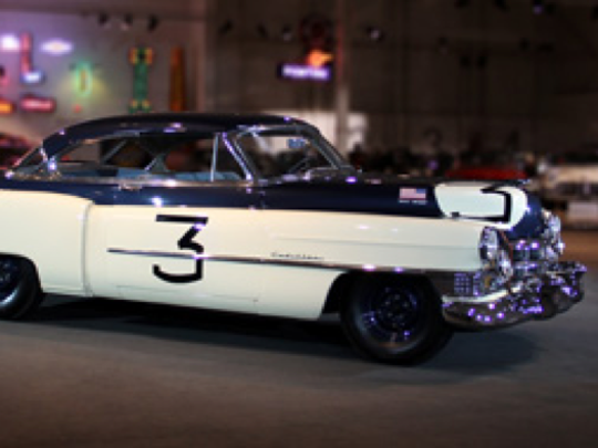 Classic road, race and concept cars are displayed beautifully at the GM Heritage Center in Sterling Heights.
