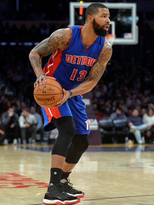 NBA: Detroit Pistons at Los Angeles Lakers
