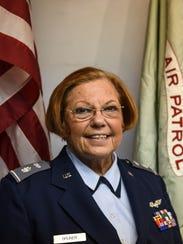 Lt. Col. Rosie  Bruner is the commander of the Lebanon