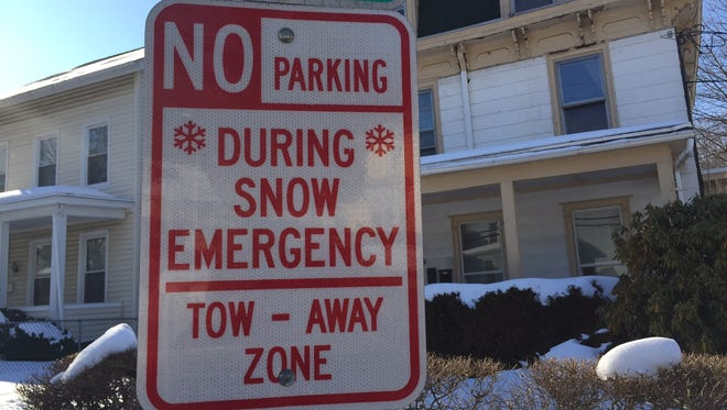 Make sure to move your vehicle during snowfalls, particularly in areas marked with snow emergency signs.