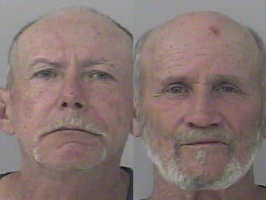 Jack Coggins and Stephen Watkins were accused of trafficking Oxycodone Thursday.