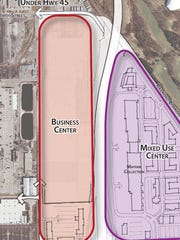 The city does proactive planning. In 2015 a Burleigh Triangle & Mayfair Road Corridor North Redevelopment Vision and Plan was created.  The J.C. Penney building was included in the plans.