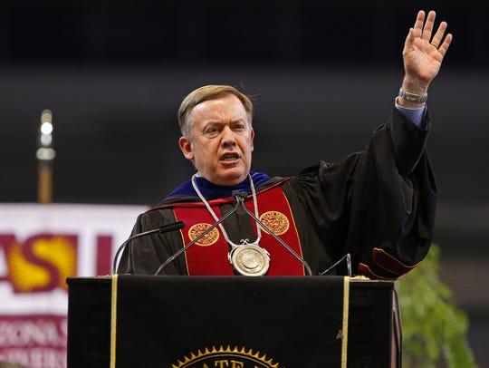 ASU President Michael Crow says he believes Arizona