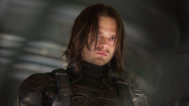 Bucky Barnes (Sebastian Stan) is a transformed man in 'Captain America: The Winter Soldier.'