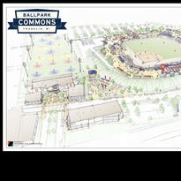 Ballpark Commons site work to begin next week in Franklin