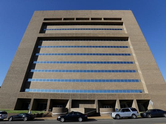 The Shelby County Criminal Justice courthouse is at 201 Poplar in Memphis.