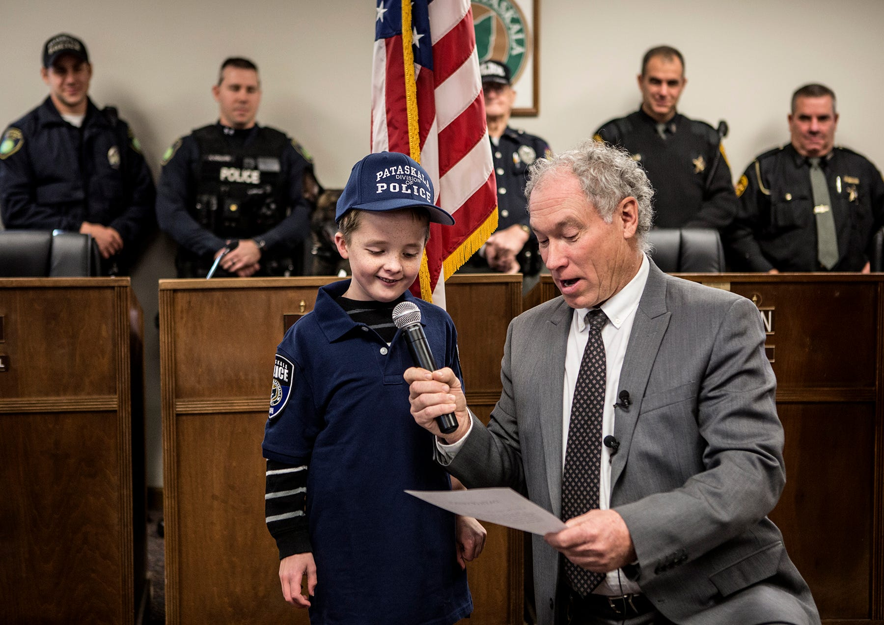 Awesome Braxton Long, 8, Is Sworn In To The Pataskala Police