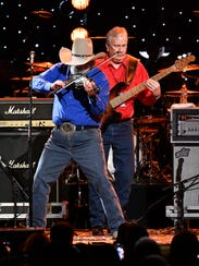 The Charlie Daniels Band performs during the Charlie