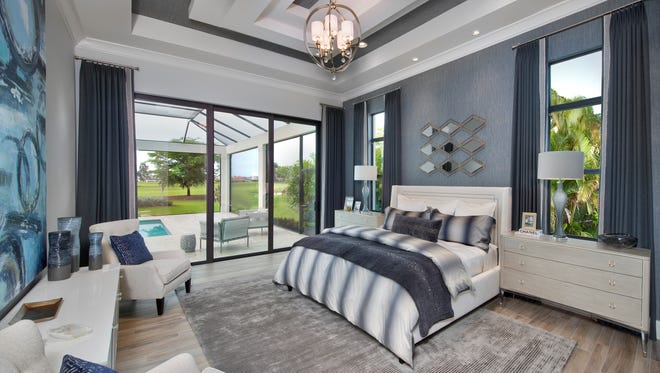Clive Daniel Home has completed the interior furnishings of Harbourside's model in Corsica at Talis Park.