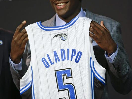 quality design 61729 6df96 Former IU star Victor Oladipo working hard to get Magic show ...