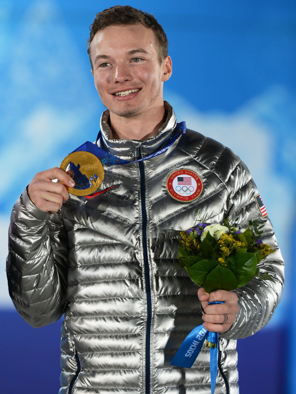 Reno's David Wise won a gold medal at the 2014 Sochi