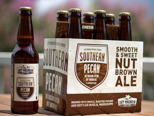 Lazy Magnolia Brewing Company's Southern Pecan – an