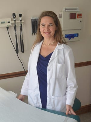 Dr. Lynell Newmarch became a registered nurse in South Africa, but continued her education in Los Angeles to become a doctor.