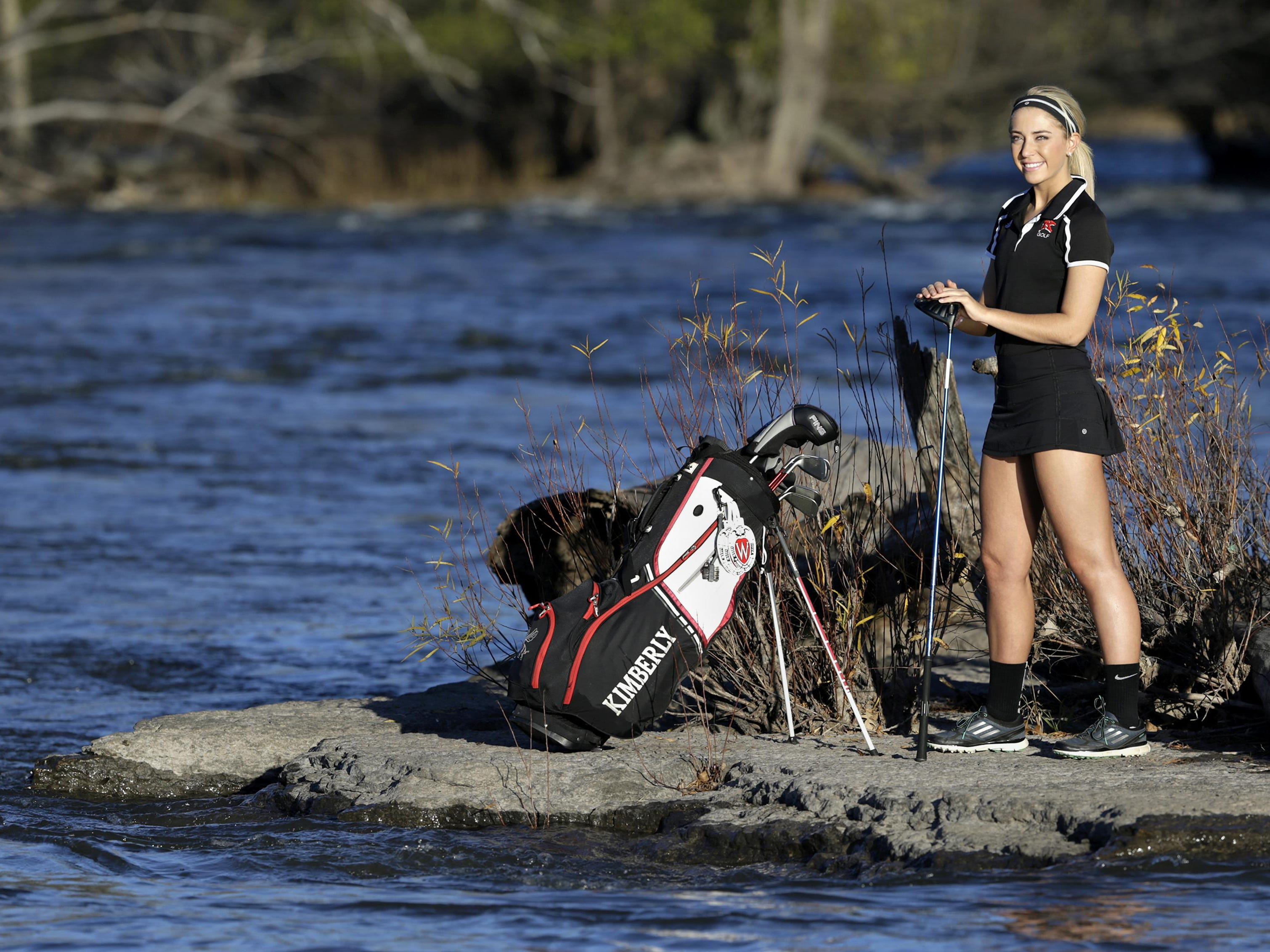 Kimberly's Hannah Braun, who finished eighth at the WIAA Division 1 state meet, is Post-Crescent Media's prep golfer of the year.